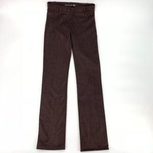 b6269d1240 Betabrand Classic Dress Yoga Pants Maroon Velvet